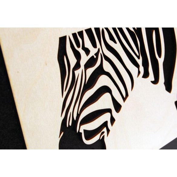 Zebra wall picture