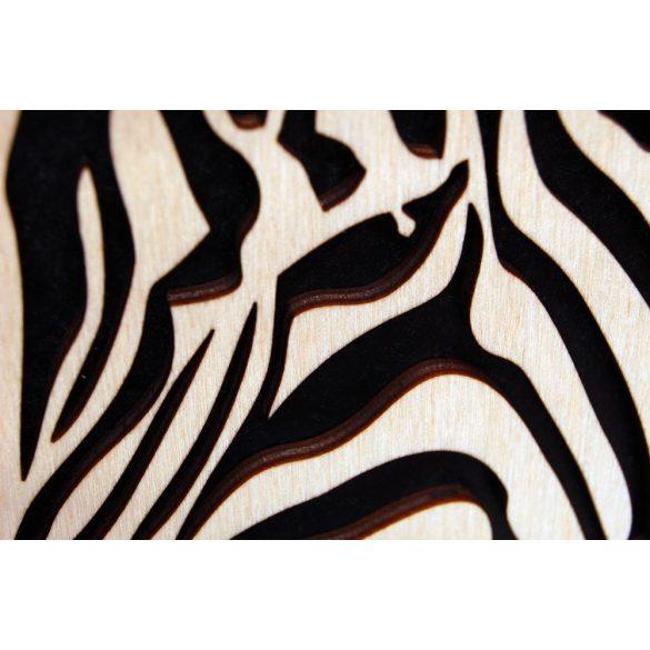 Zebra wall picture