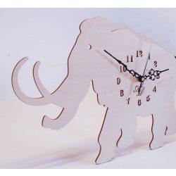 ++Lézervágott natúr mammut óra sweep óraszerkezet, Ingyenes posta++