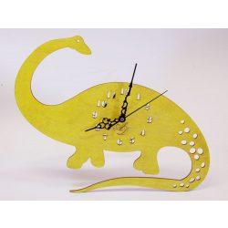 ++ Laser Cut yellow sun Dinos sweep clock watch, free postage ++