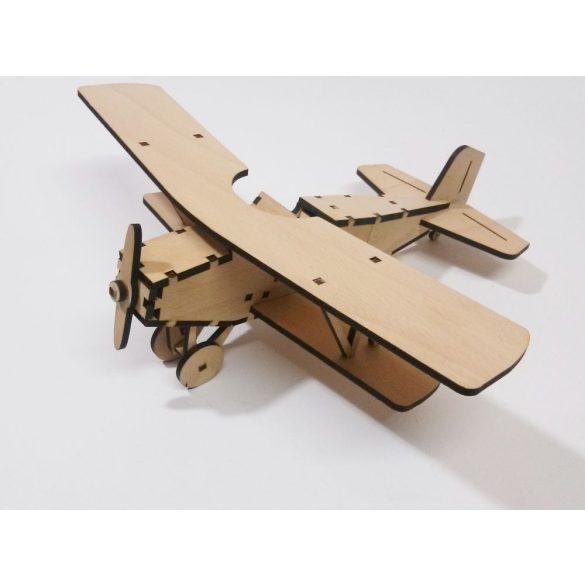 Dupla fedeles repülő makett