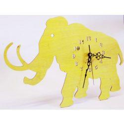 ++Lézervágott napsárga mammut óra sweep óraszerkezet, Ingyenes posta++