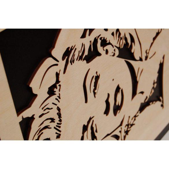 3D-s Merilyn falikép