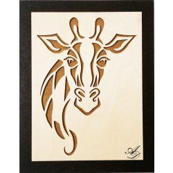 Giraffe  Wandbild