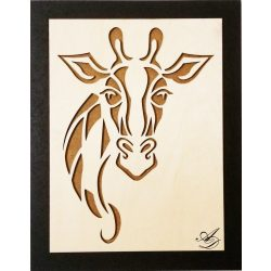 Giraffe wall picture