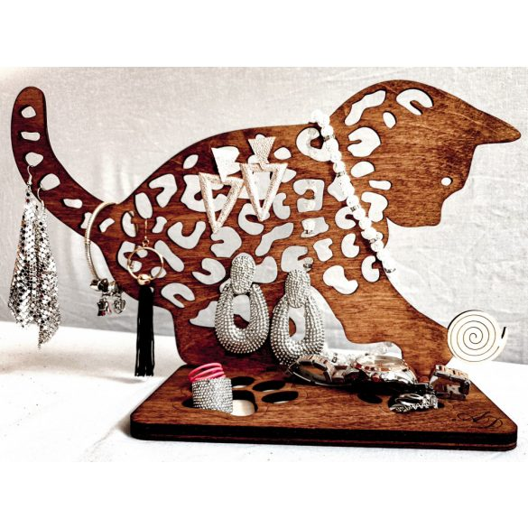 cat earring holder