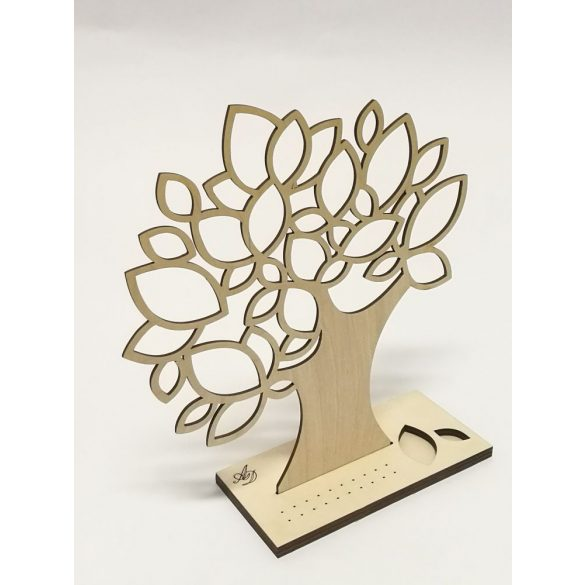 Autumn earring holder
